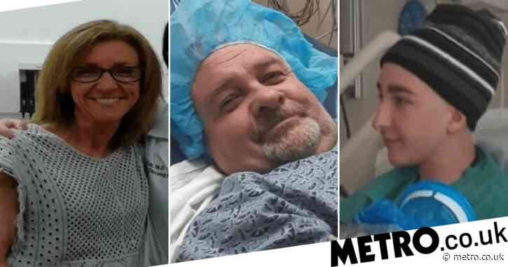 Mother, father and their 17 year-old son all diagnosed with different types of cancer