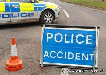 Accident partially blocks A19 Shipton Road  in to York