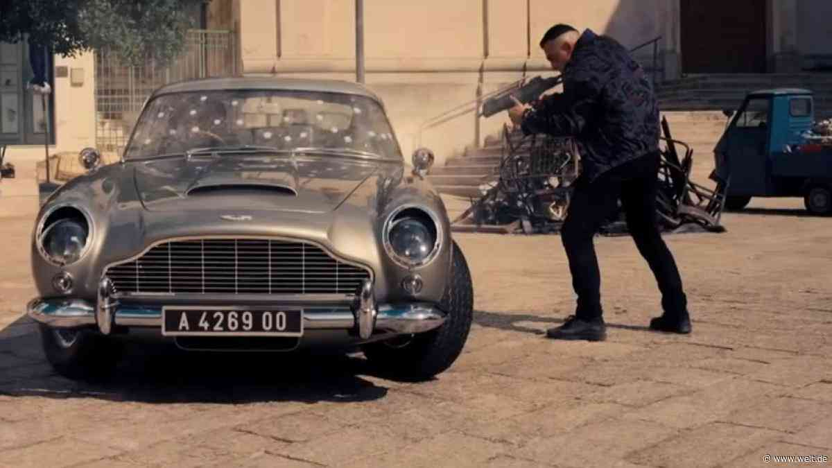 Aston Martin bekommt Hauptrolle im neuen Bond-Trailer