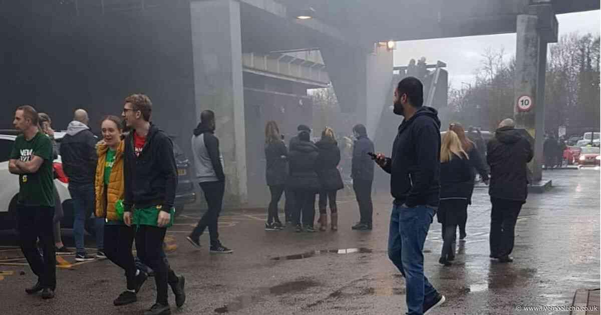 Basement fire shuts Skelmersdale Concourse shopping centre