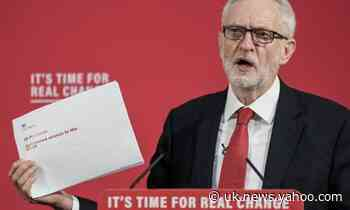 Leaked Brexit paper negates PM's Northern Ireland claims – Corbyn