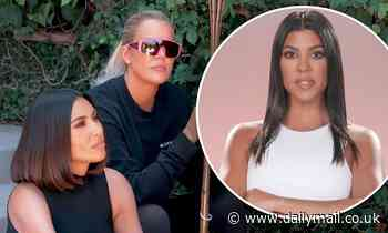 Kim Kardashian and Khloe confront Kourtney over her aversion for sharing her personal life