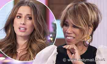 Trisha Goddard's has awkward chat with Stacey Solomon