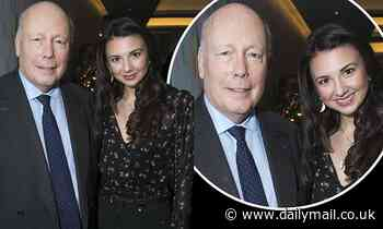Mary Poppins star Zizi Strallen steps out alongside Julian Fellowes at WhatsOnStage Awards