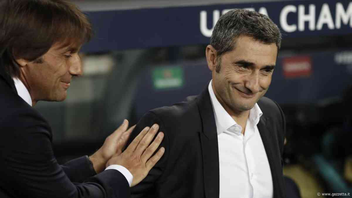 """Inter-Barcellona, Valverde: """"In Champions nessuno sconto e su Vidal..."""""""