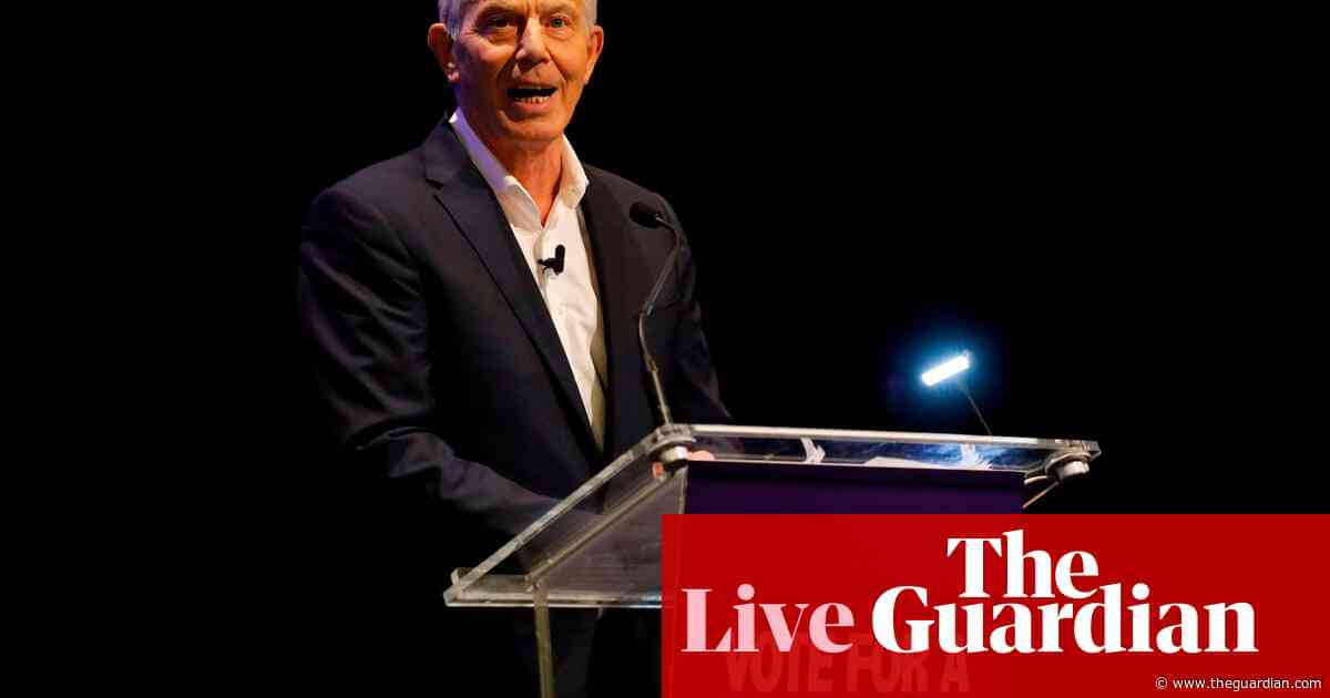 General election: Major and Blair urge tactical voting to deny Johnson majority – live news
