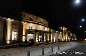 Wie der Coburger Bahnhof leuchten kann