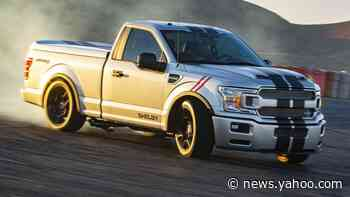 Shelby gives 2020 Ford F-150 the Super Snake treatment with 770 horsepower