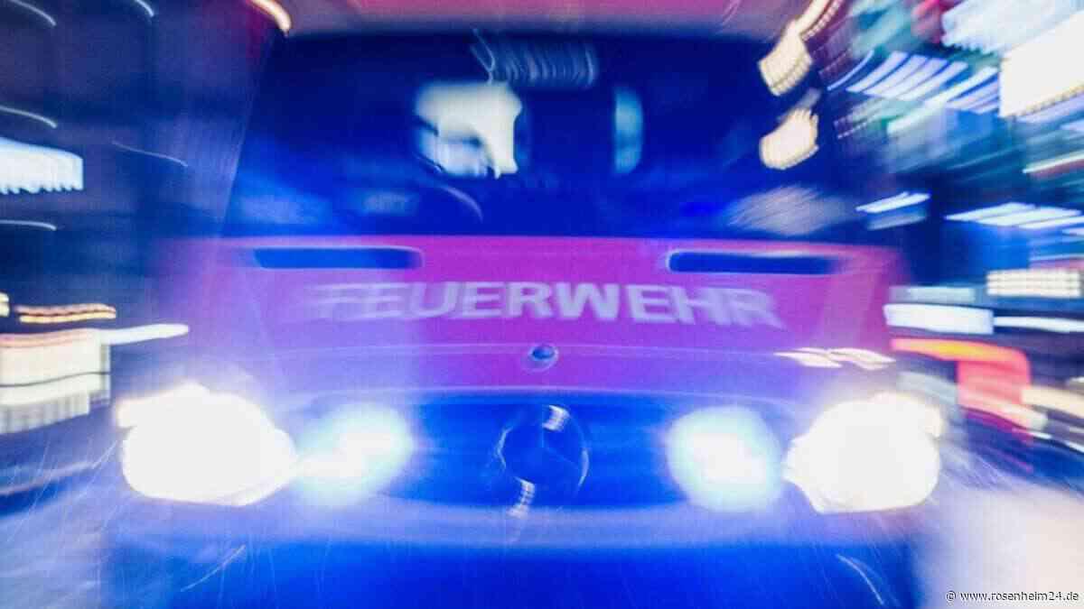 Brandalarm in Altenheim - Feuerwehr und BRK rückten aus