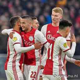 Ajax gaat tegen Willem II voor tiende competitiezege op rij
