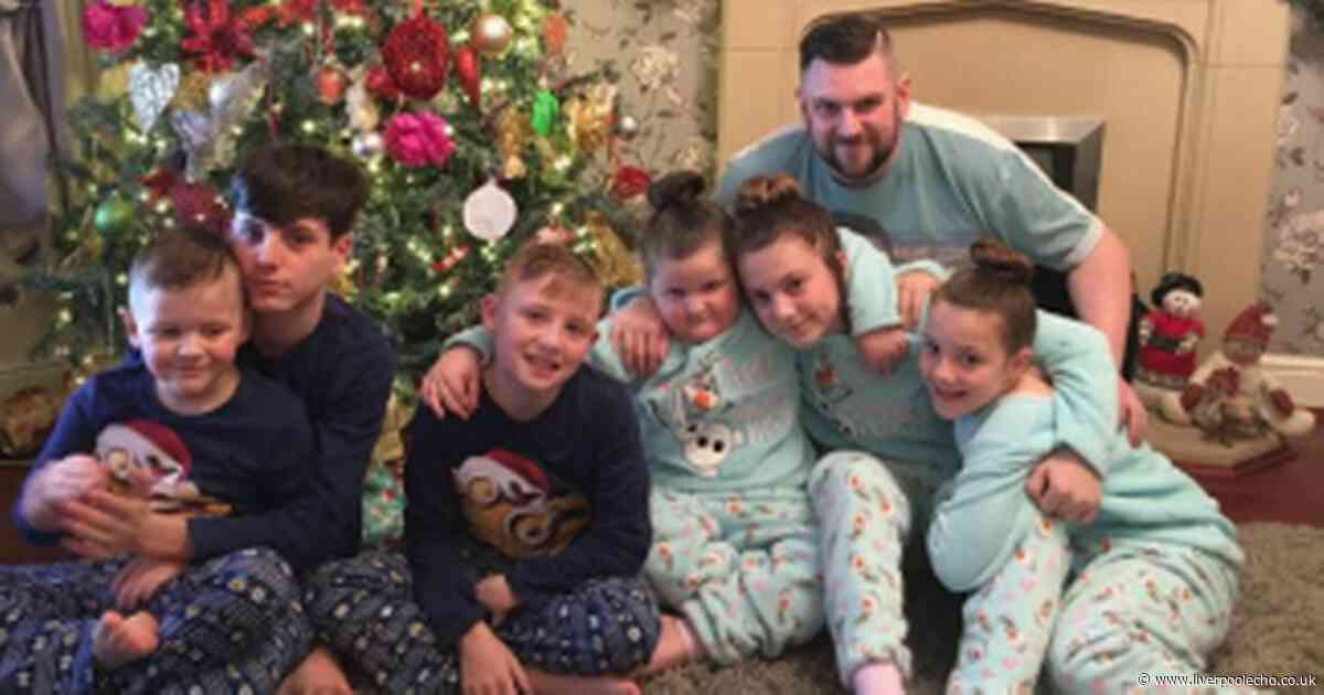 Dad of six told he has months to live after suffering sore throat is desperate to make memories for children