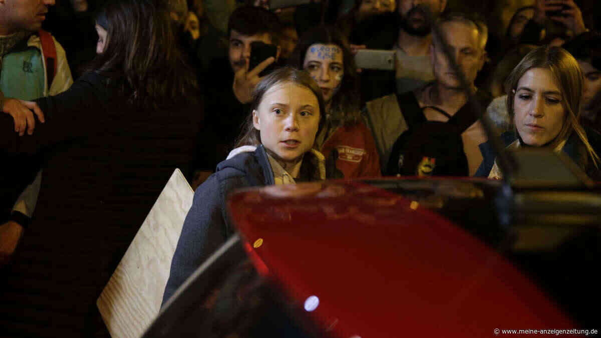 Greta Thunberg gibt großes Versprechen - Tausende Menschen ziehen durch Madrid