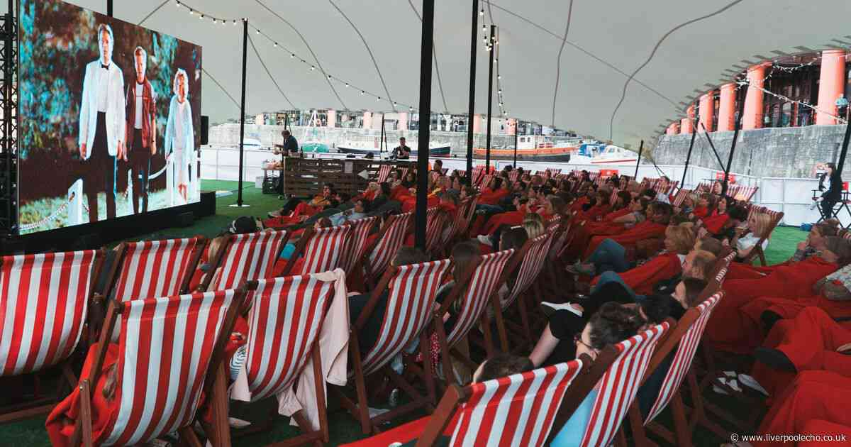Floating cinema at Albert Dock cancelled because of strong winds