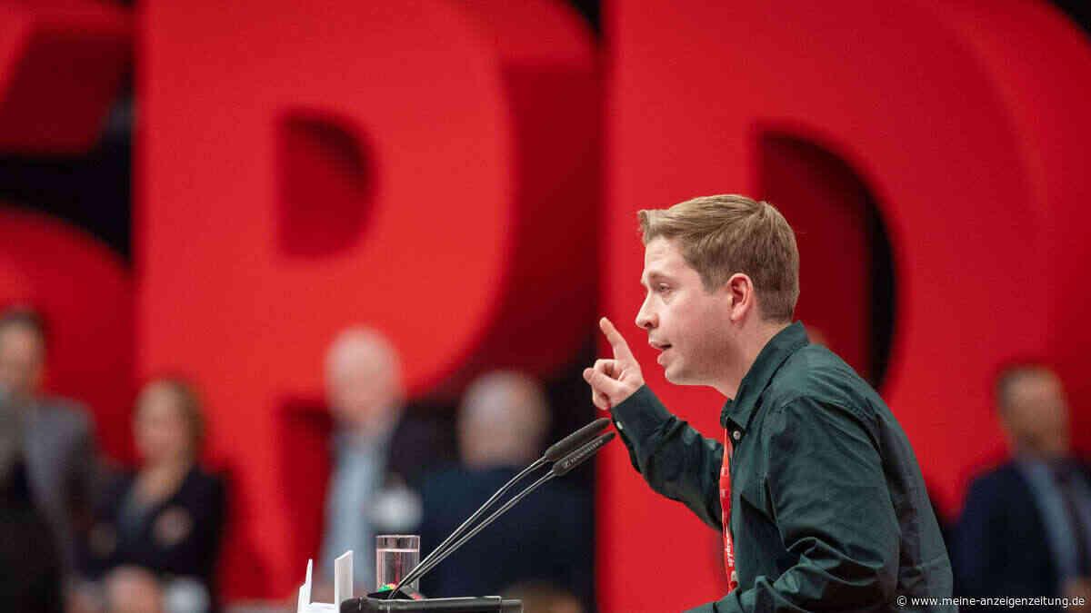 Bundesparteitag: Kevin Kühnert zum neuen SPD-Vize gewählt - Heil mit schlechtestem Ergebnis