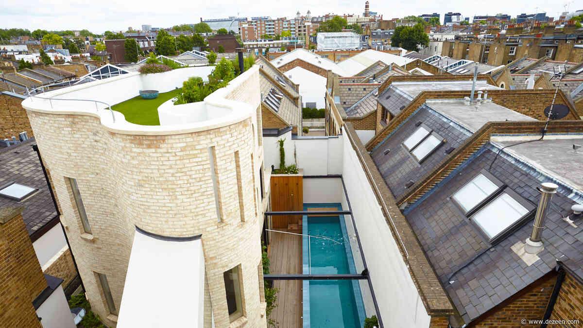 Alex Michaelis wraps his London family home with curvy brickwork walls