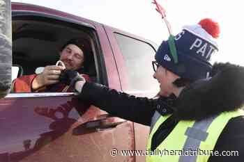 Candy Cane Campaign to promote safe driving
