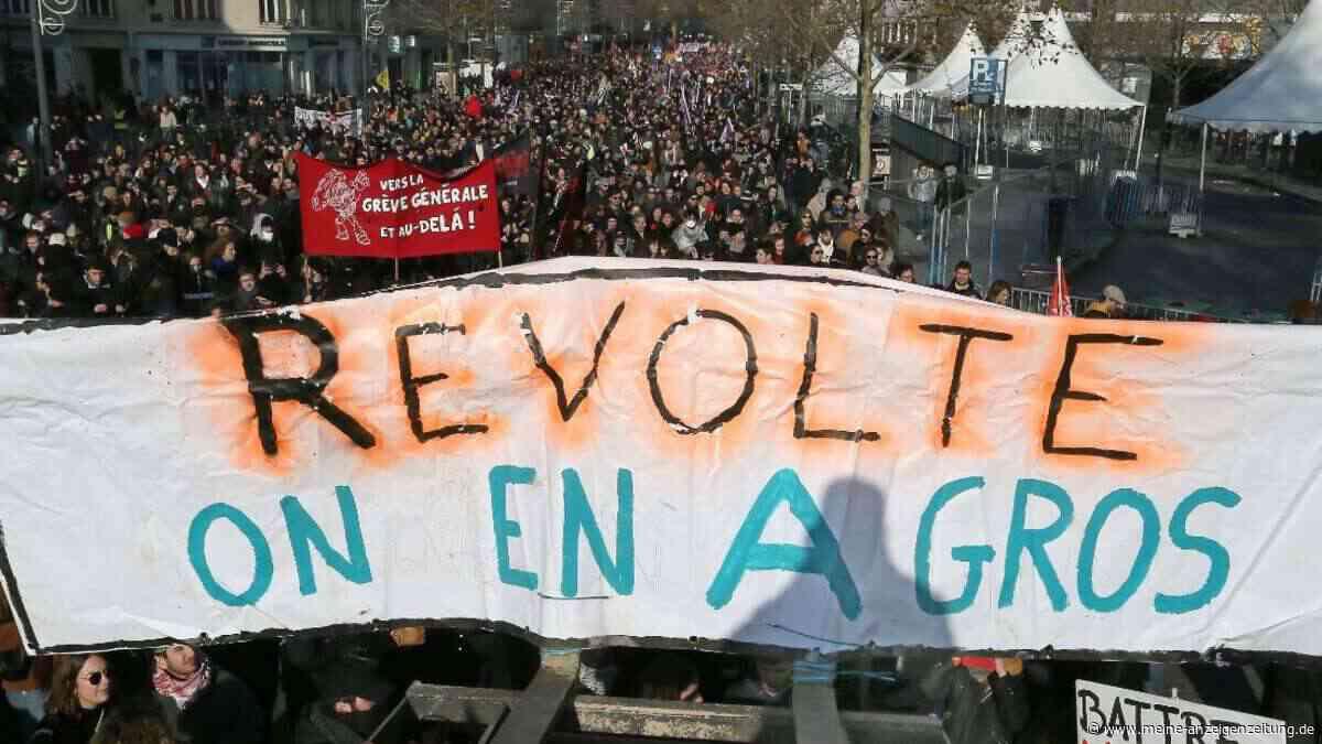 Protest gegen Macron: Streik in Frankreich geht weiter - Regierung hält an Plänen fest