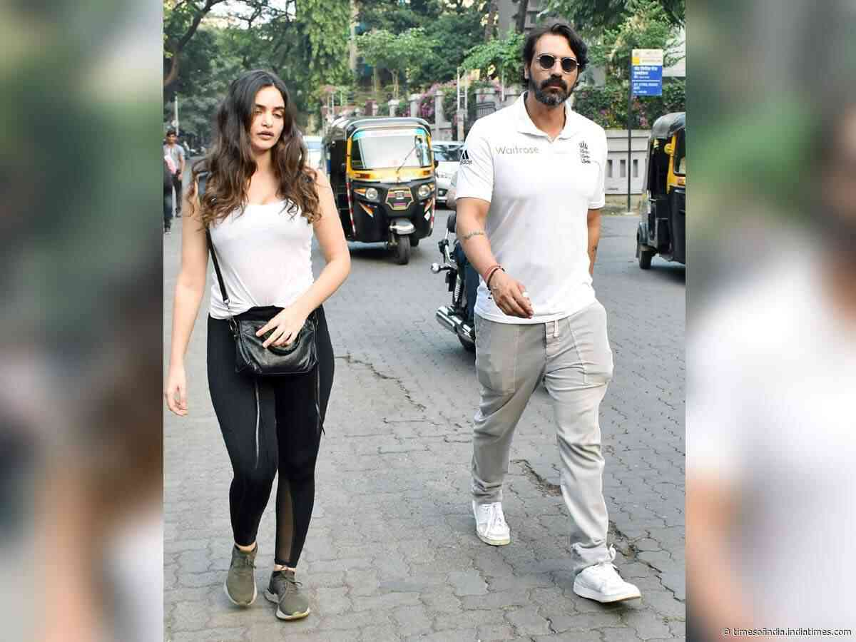 Pics: Arjun-Gabriella get snapped in the city