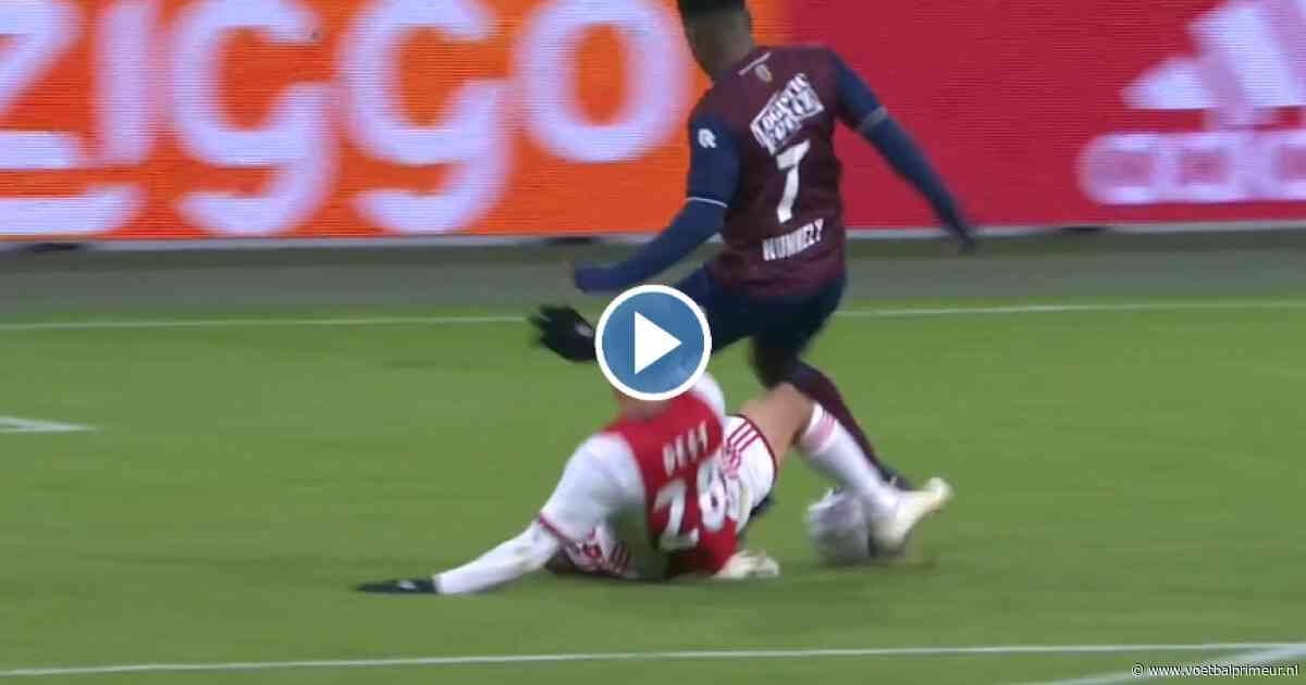 Ajax op achterstand in Arena: Dest vloert Nunnely, Willem II benut strafschop