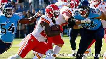 Damien Williams out for Chiefs on Sunday
