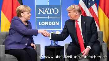 Zurzeit steht die Kanzlerin hoch im Kurs: Donald Trump: Lob und Tadel für Angela Merkel