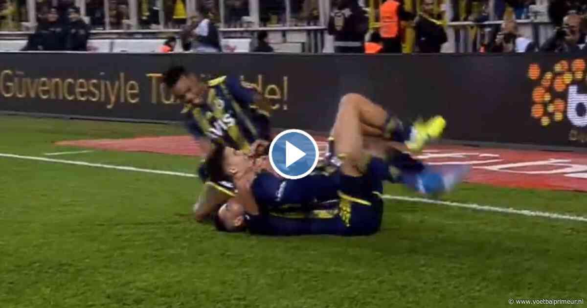 Kadioglu laat zich gelden met werkelijk schitterende goal voor Fenerbahçe