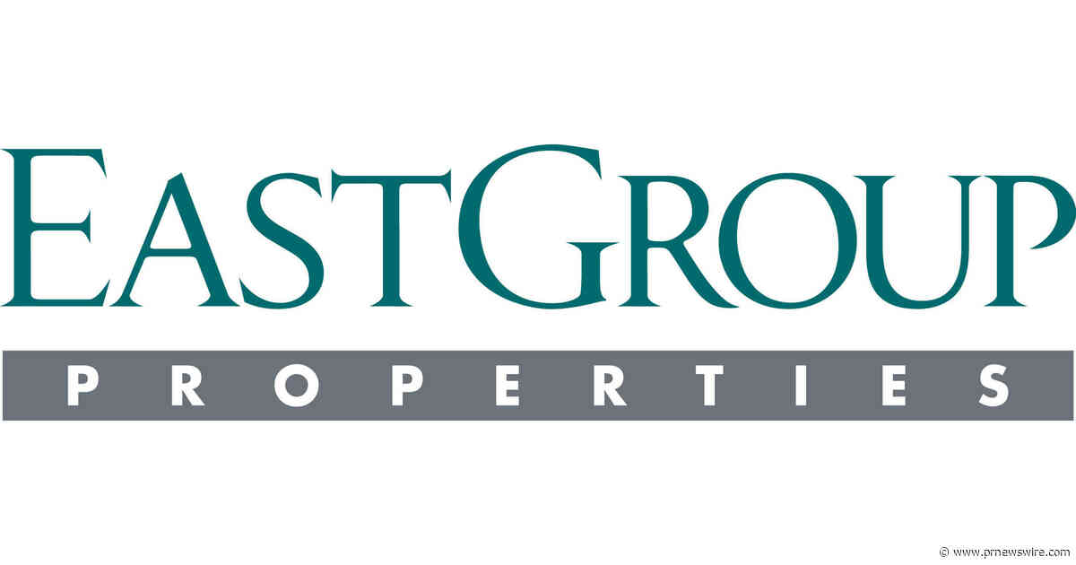EastGroup Properties Announces 160th Consecutive Quarterly Cash Dividend