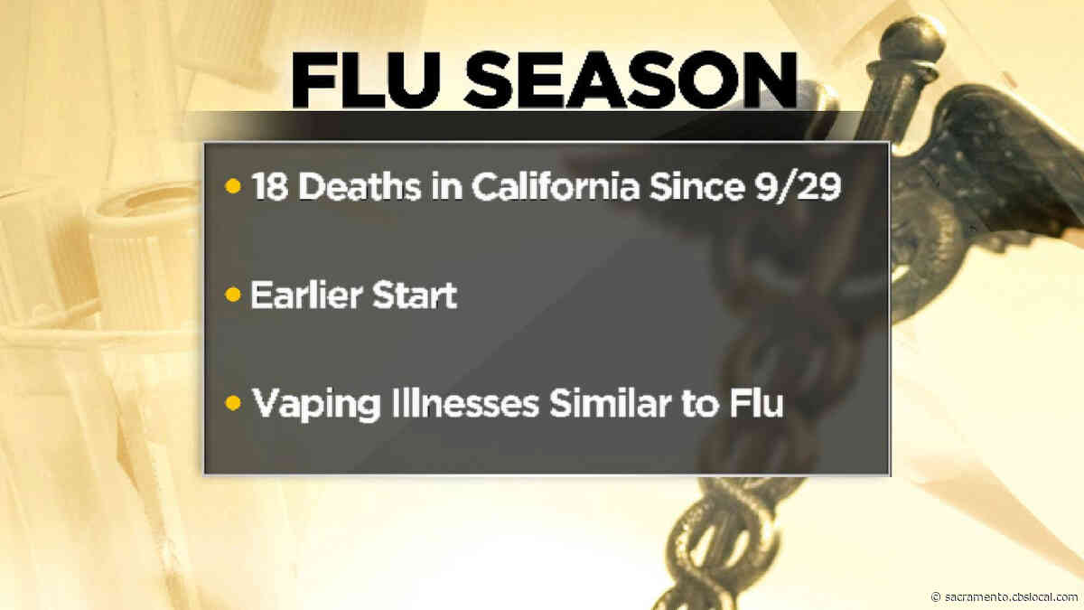 18 Flu-Related Deaths Have Been Recorded In California Since September