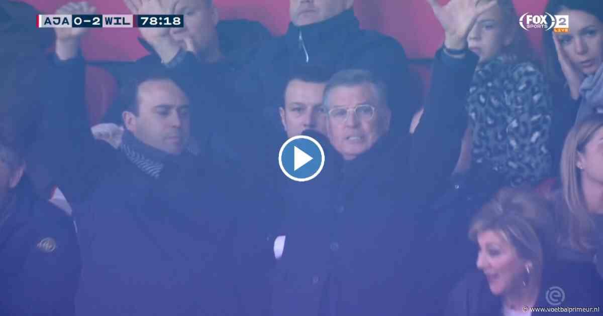 Ajax op weg naar eerste nederlaag: Willem ll op 0-2 in Arena