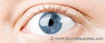 Pratiquement aveugle après avoir reçu une mine de crayon dans l'œil