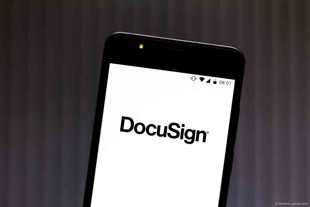 DocuSign soars after earnings beat expectations