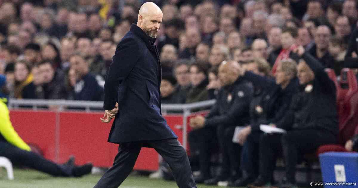 Ten Hag over 'onacceptabele' nederlaag Ajax: 'We hebben alle principes genegeerd'