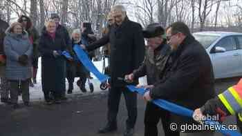 Darlings Island residents celebrate completion of flood mitigation project