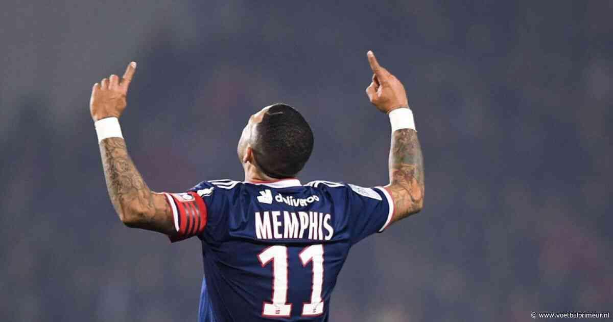 Memphis in bloedvorm bij Lyon, Inter speelt gelijk in topper tegen Roma