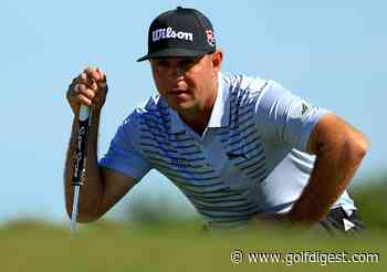 Gary Woodland leads Henrik Stenson by one at the Hero World Challenge, Tiger Woods, Justin Thomas two back