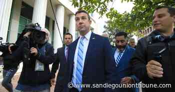 Rep. Duncan Hunter announces he'll resign from Congress after the holidays