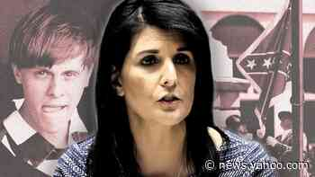 Nikki Haley claims Dylann Roof 'hijacked' the 'heritage' of the Confederate flag in church massacre
