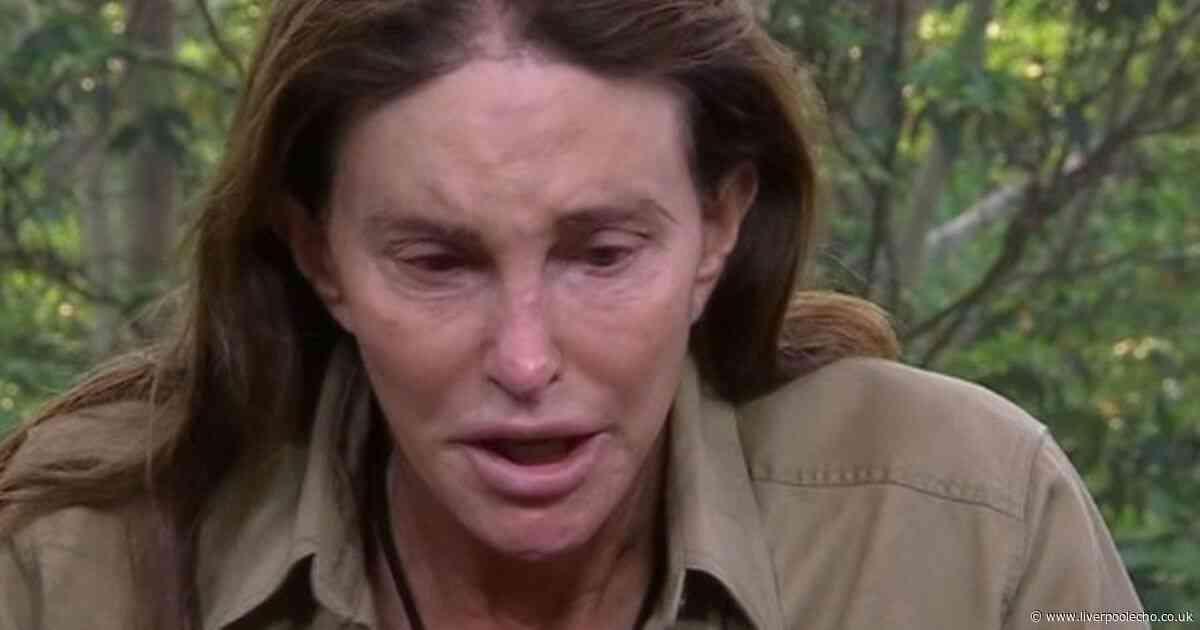 Caitlyn Jenner breaks down in tears after leaving I'm A Celebrity