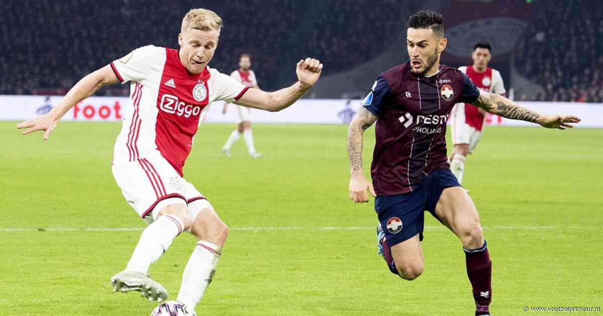 Van de Beek: 'Willem II heeft het goed gedaan, maar wij waren slecht'