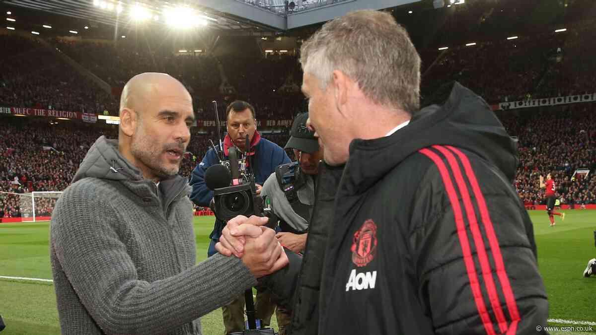 Man United still bigger club than City - Solskjaer