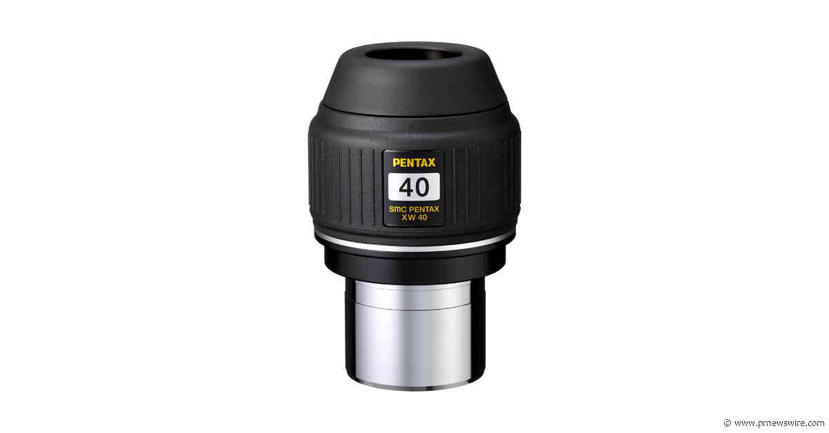 Ricoh announces two weatherproof, high-performance, wide-angle eyepieces for astronomy telescopes