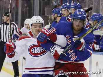 Liveblog: Canadiens visit Broadway to play the Rangers