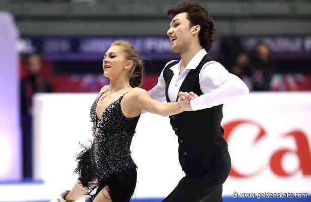 Georgia's Kazakova and Reviya take lead in Junior Ice Dance in Torino