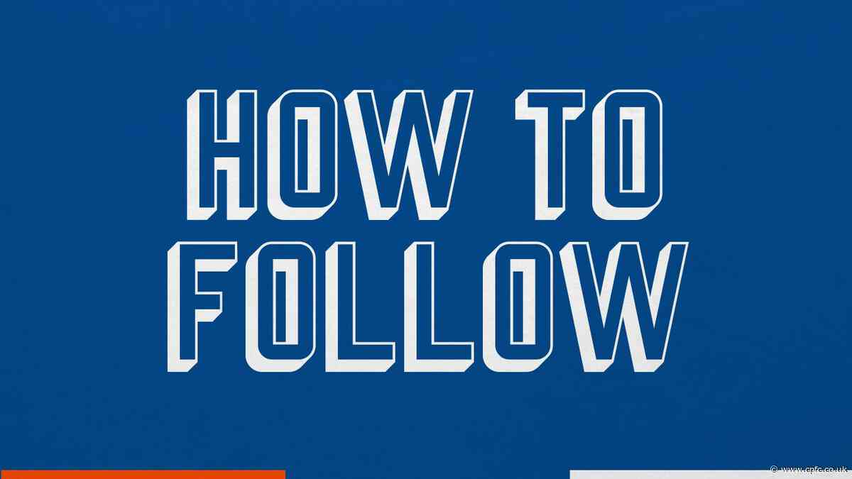 How to follow Watford v Palace live today