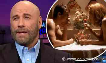John Travolta was stunned when he saw wife Kelly Preston's Jerry Maguire sex scene with Tom Cruise