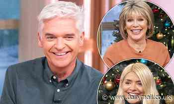 Phillip Schofield is 'feuding with This Morning co-stars Ruth Langsford and Holly Willoughby'