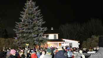 Lively, Copper Cliff communities holding tree-lighting events this weekend