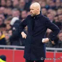 Ten Hag vindt dat alles misging bij 'onsamenhangend' Ajax tegen Willem II
