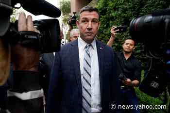 California congressman Duncan Hunter announces resignation after corruption plea
