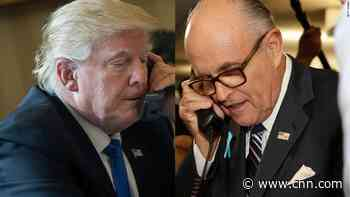 Trump and Giuliani calls spark spying fears